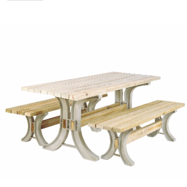 Use 2x4 Basics to create your own outdoor and patio furniture.